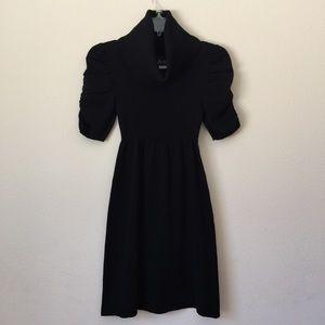 A-list - Black Cowl Neck Knit Dress